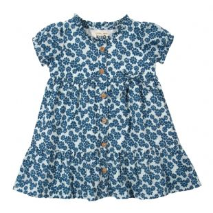 Kite Dress Daisy French Blue-6 to 12 months